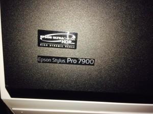 Epson Stylus Pro 7900 top