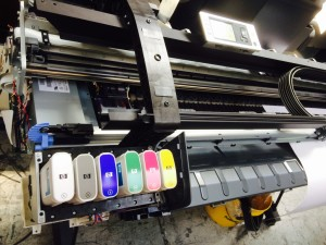 HP Plotter Ink Out